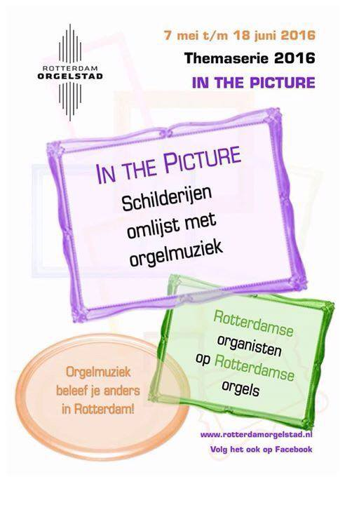 """In the Picture"" flyer"